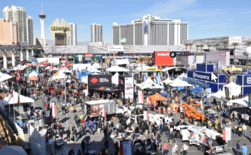 SH na World of Concrete, em Las Vegas
